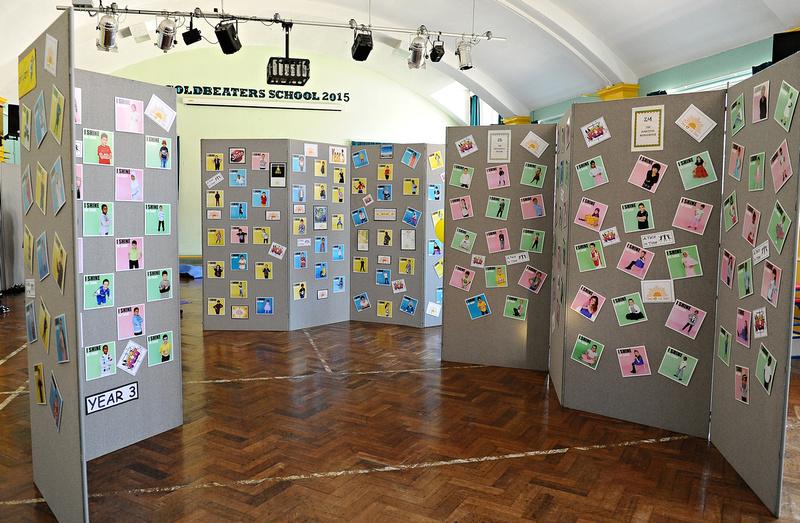 goldie exhibition